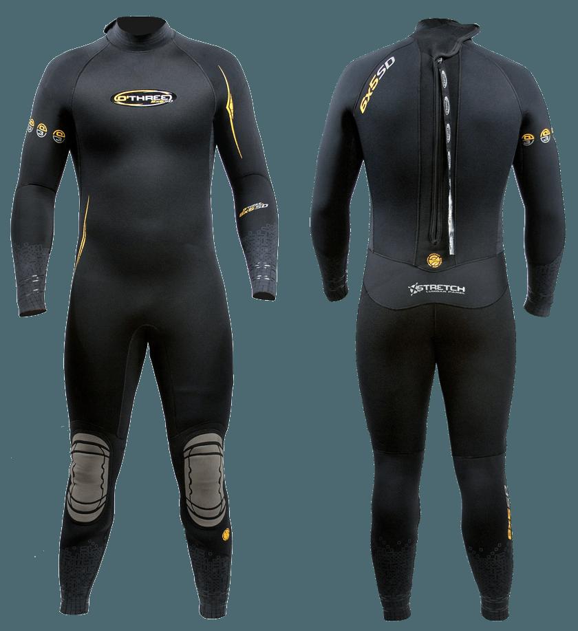6 x 5 Diving Semi-Dry Wetsuit Original  f34d3bfd8