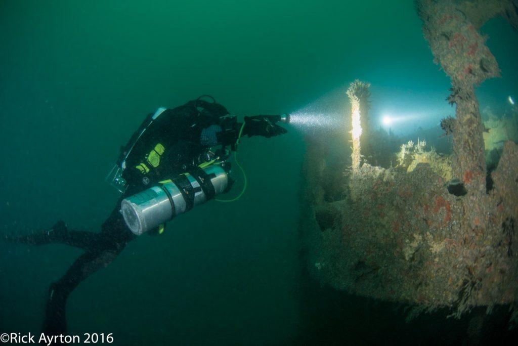 HMS Boadicea stern