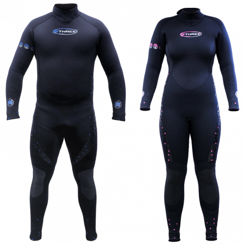 O'Three 3mm Wetsuit GBS 3x3 onepiece