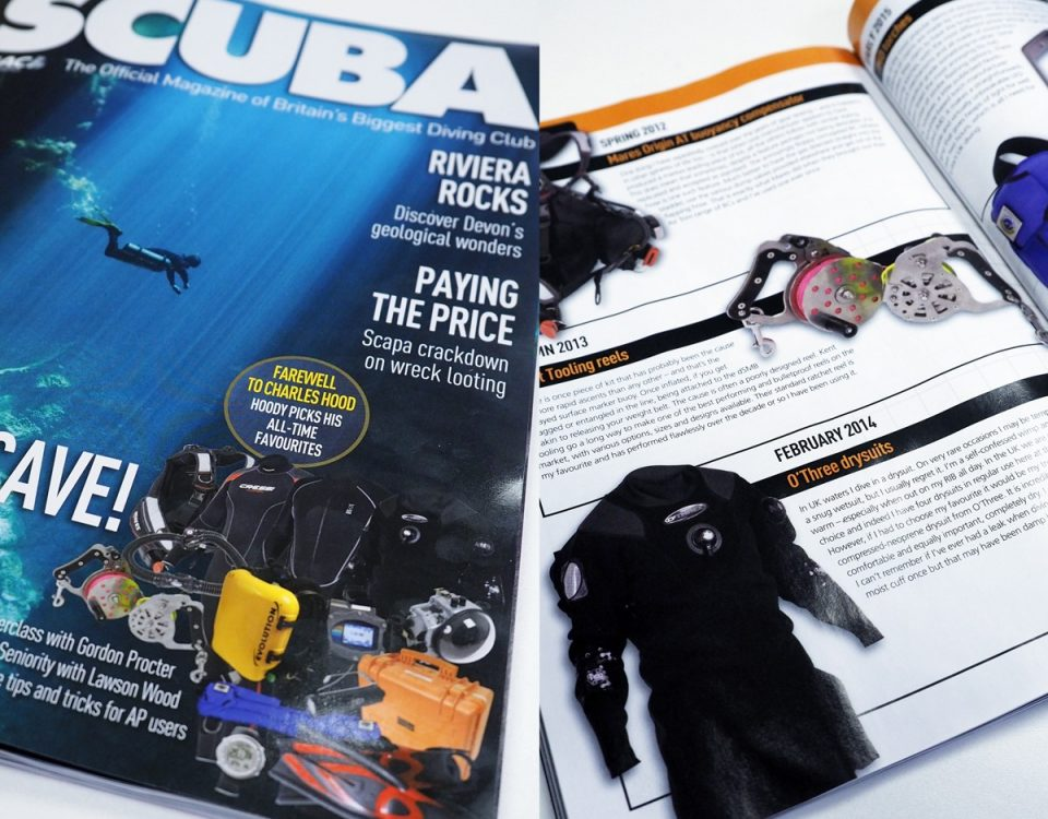 scuba magazine February 2017