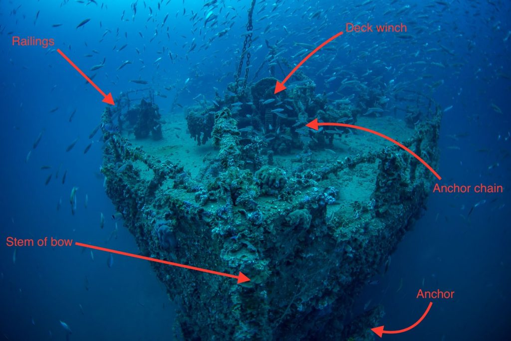 wreck of SS Vis