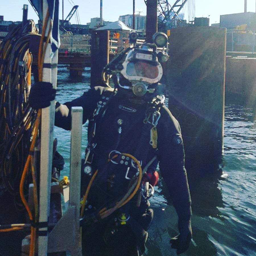 Chris Calero - Commercial Diver - Port 10