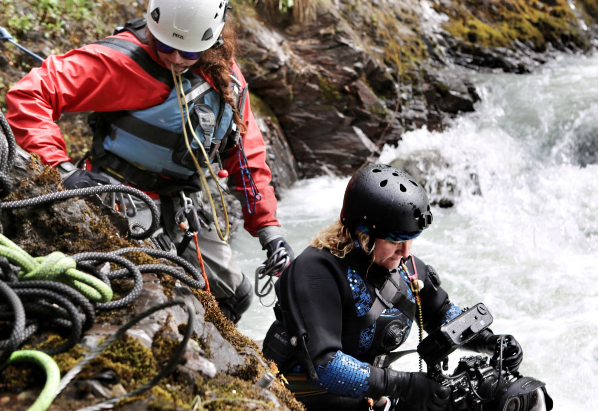 Shooting Gold Rush White Water… | OThree Custom Drysuits