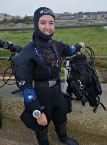 Heriot-Watt Scientific dive team