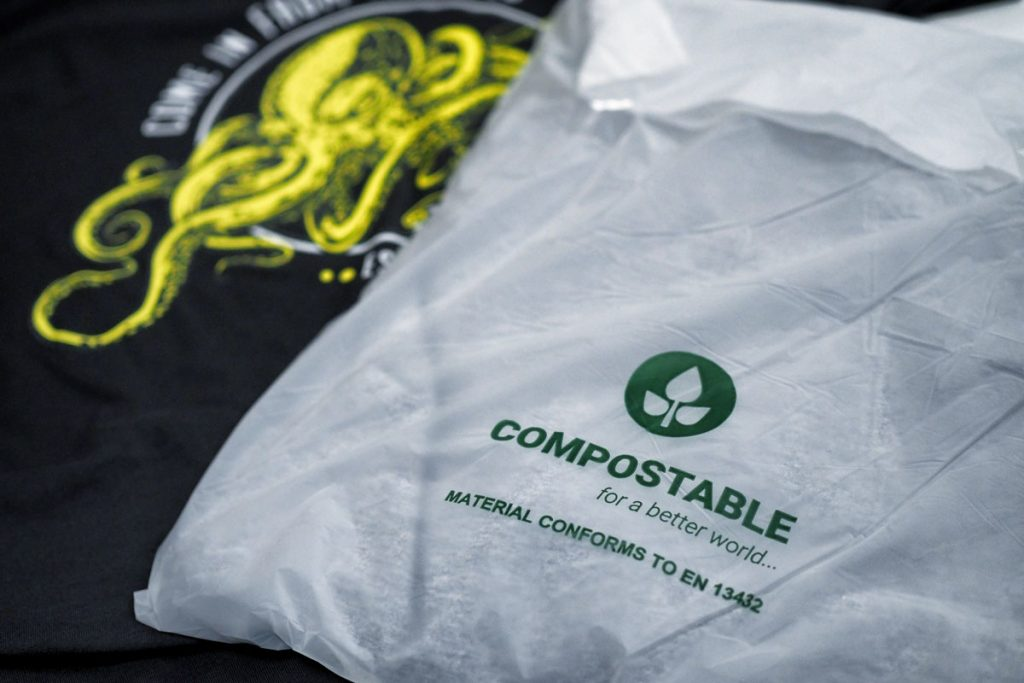T-Shirt Compostable Bags